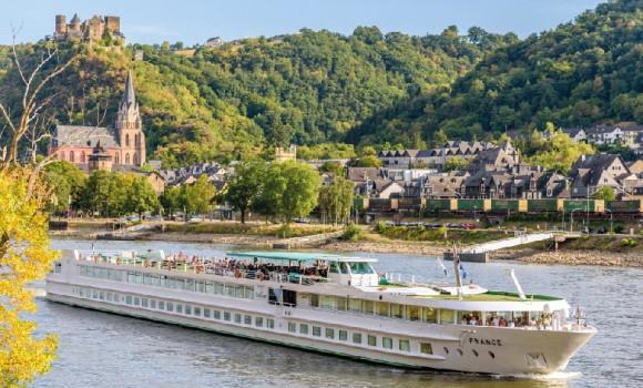 Dunai hajóút  Passau- Budapest   MS FRANCE